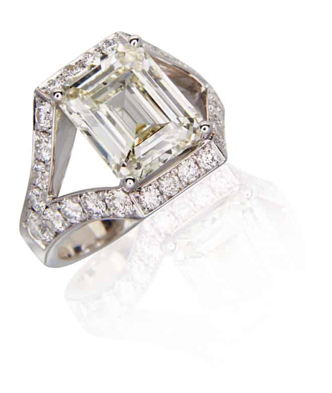 custom engagement ring in toronto ontario