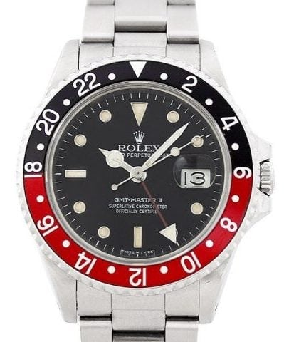Used Rolex GMT Master II 16710