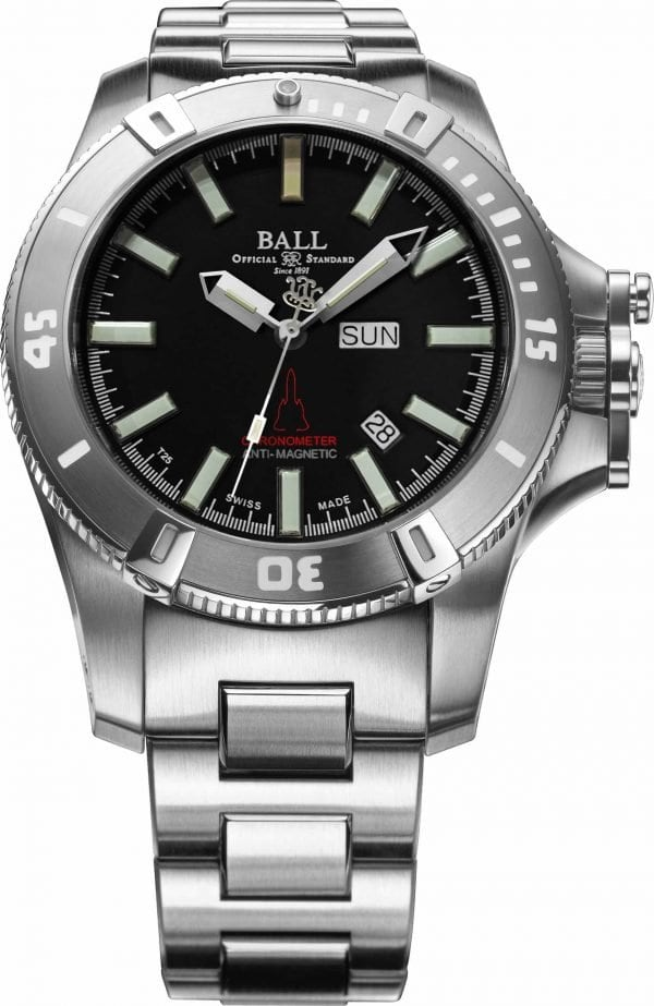 Ball Silver Fox (DM2036A-S8CJ-BK)
