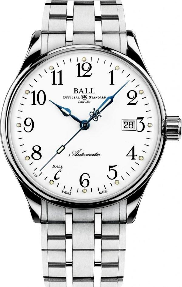 Ball Standard Time 135 Anniversary (NM3288D-SJ-WH)