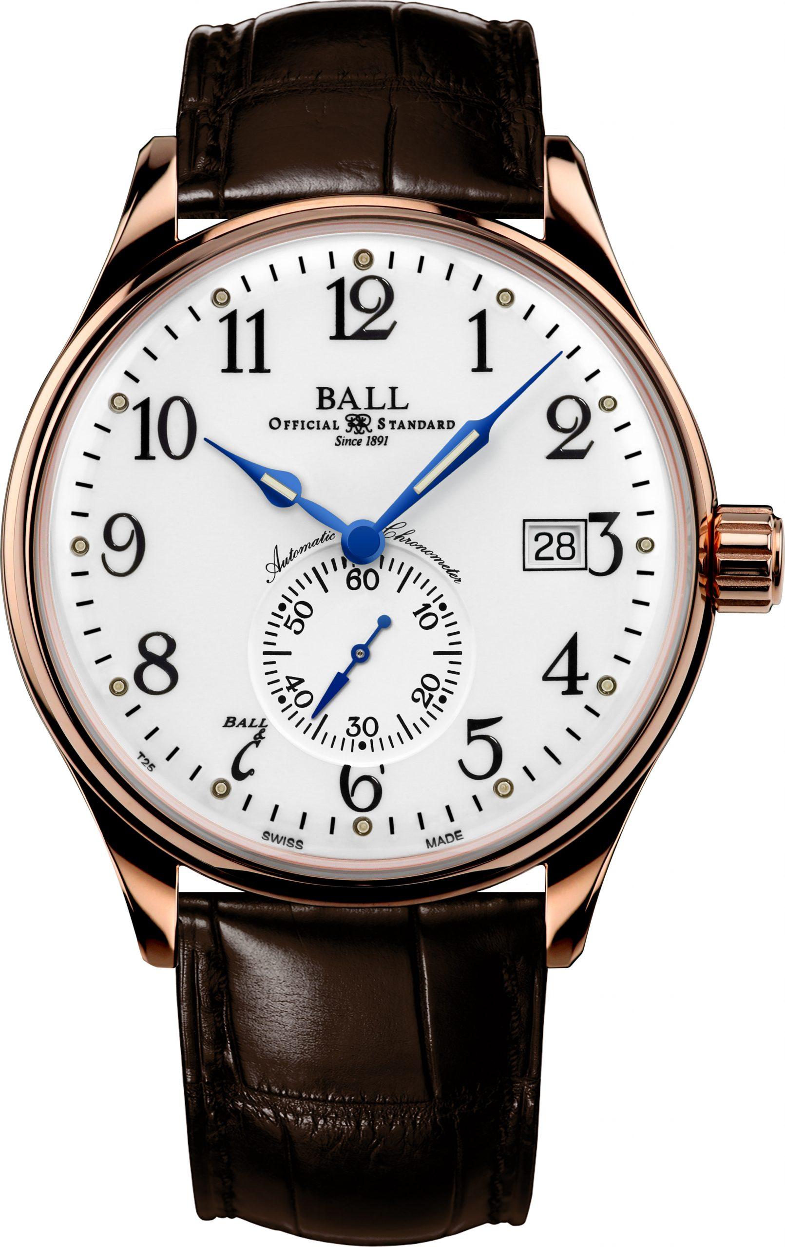 Ball Standard Time (NM3888D-PG-LCJ-WH)