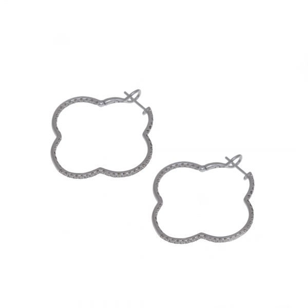 Clover Diamond earrings