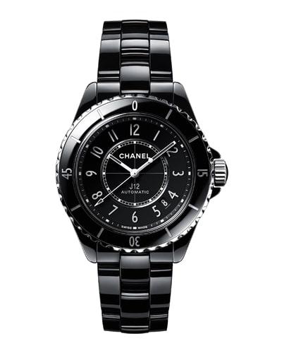 Chanel J12 Black Ceramic Ladies Watch
