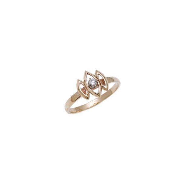 10Kt Yellow Gold Estate Diamond Ring