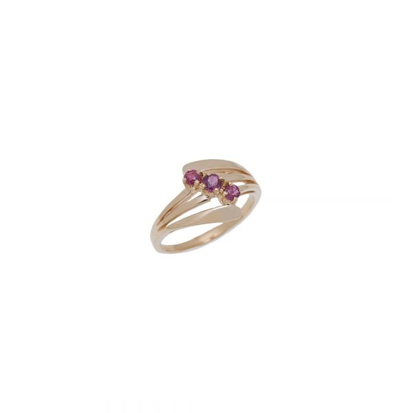 14Kt Yellow Gold Ruby Estate Ring
