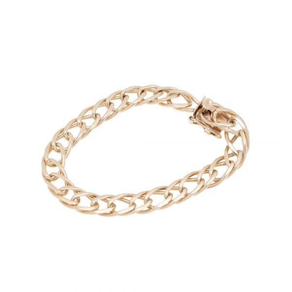 14Kt Yellow Gold Link Style Bracelet