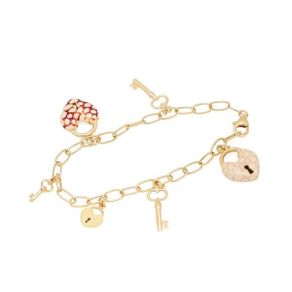 18Kt Charm Bracelet
